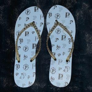 VS PINK Vintage Flip Flop Sandals